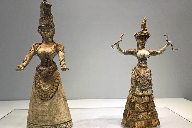 статуэтки минойских божеств