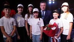 В Иркутске юнармейцы поучаствовали в уроке из космоса