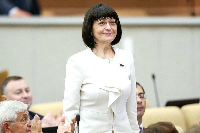 Депутат Госдумы, бывший мэр Ульяновска Марина Беспалова