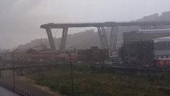 Названа новая причина обрушения моста в Генуе