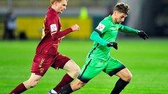 «Анжи» сыграл вничью с « Рубином» в матче российской Премьер-Лиги