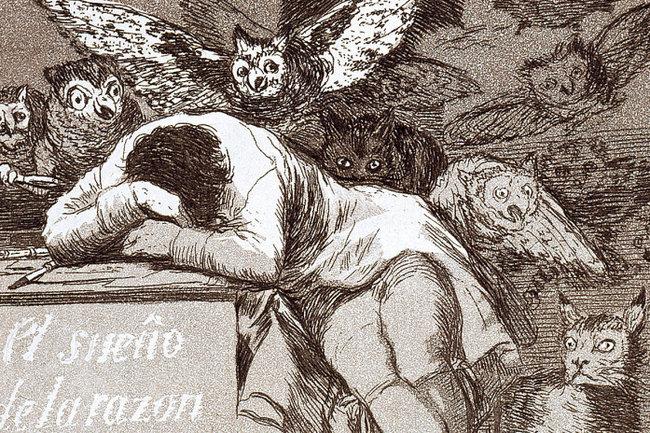 «Сон разума рождает чудовищ», Франсиско Гойя
