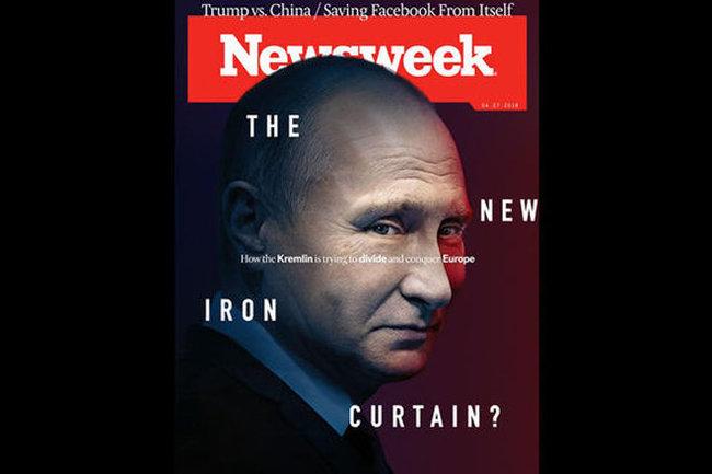 Журнал Newsweek поместил Владимира Путина наобложку нового номера