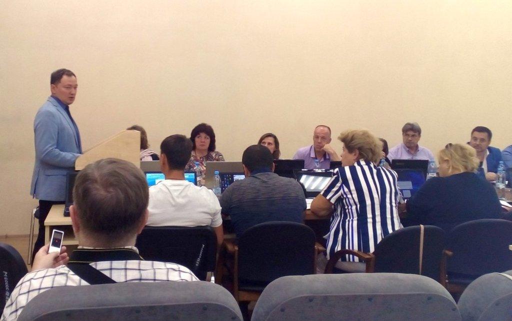Выступление Михаила Муратова на заседании комиссии по бюджету Пушкинского совета депутатов 20 сентября 2018 года