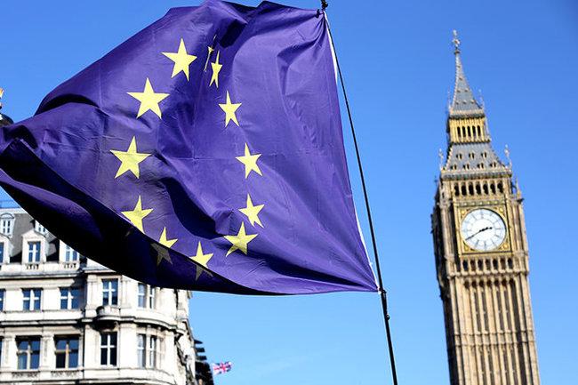 Brexit Брезит Лондон Великобритания Англия