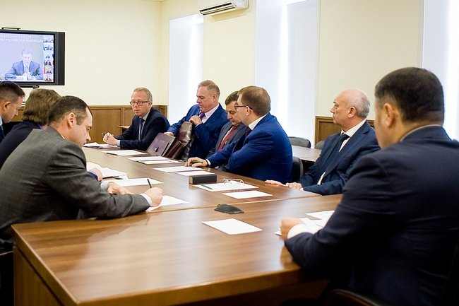 Всероссийское селекторное совещание о ходе подготовки предприятий ЖКХ к работе в осенне-зимний период