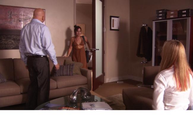 Кадр из сериала Блудливая Калифорния (2007).