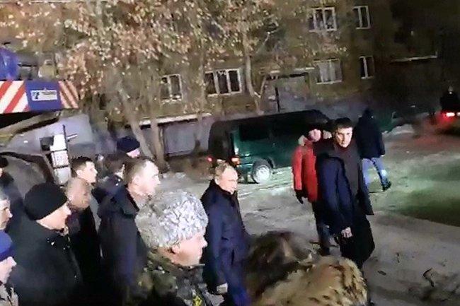 Владимир Путин в Магнитогорске