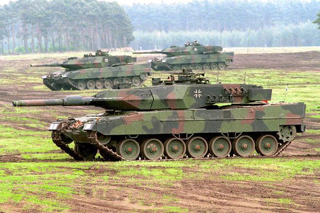 ВГермании решили возродить первые серийные танки для сдерживания Российской Федерации