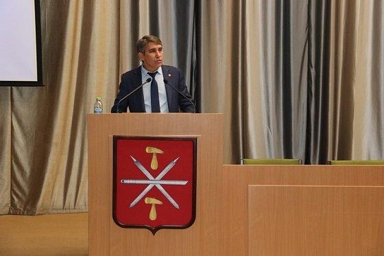 Сити-менеджер Тулы Дмитрий Миляев.