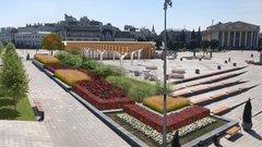 В Чебоксарах выбрали проект озеленения Красной площади