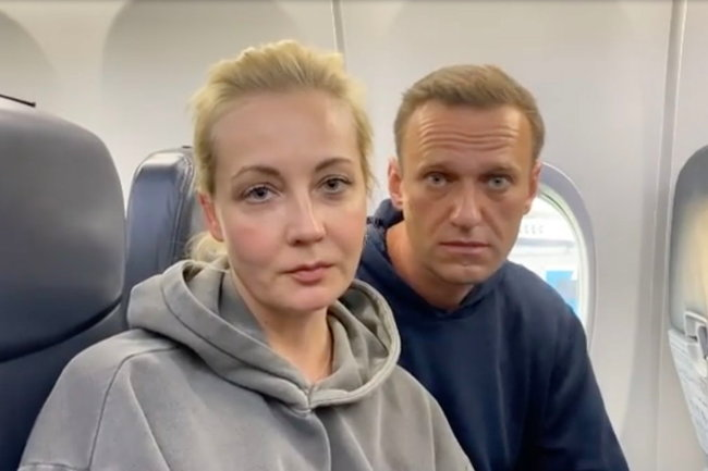 Алексей Навальный и его супруга
