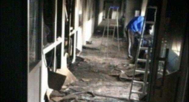 Чиновников вПерми обвинили всокрытии огромного пожара вшколе
