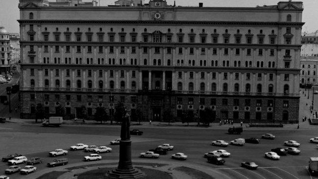 Лубянская площадь. СССР. Москва. 1 июня 1991 г.