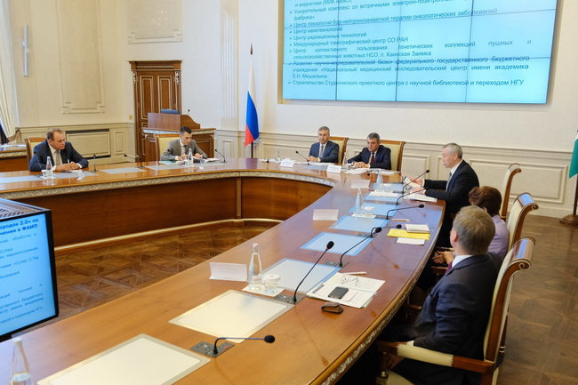 Губернатор Новосибирской области и глава Минобрнауки обсудили перспективы развития Новосибирского научного центра