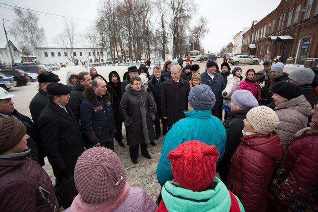 На формирование городской среды Гороховцу было выделено более 18 млн рублей