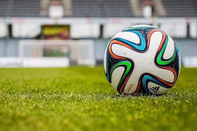 футбол мяч поле