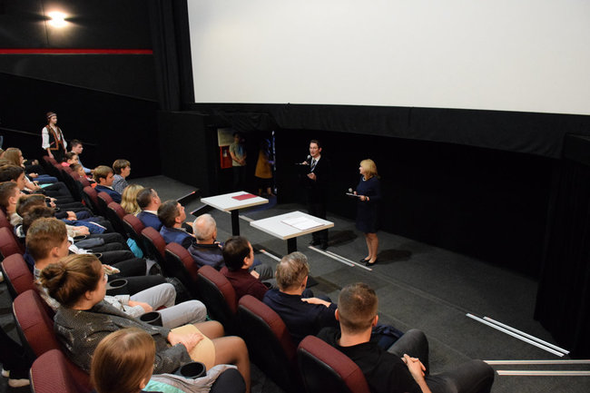 Первый киноурок состоялся в Ялте