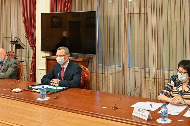 Владислав Шапша встретился с руководством АО «АБ ИнБев Эфес»