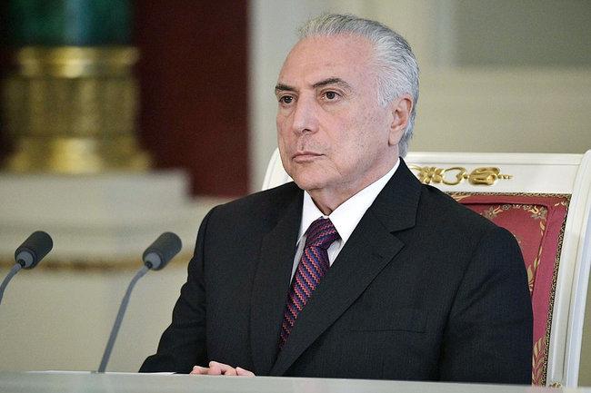 Генеральная прокуратура Бразилии выдвинула новые обвинения вадрес президента республики Мишела Темера