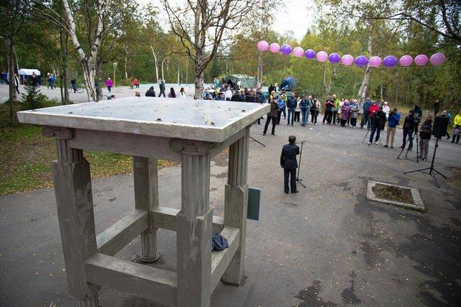 """I Международный поэтический фестиваль """"Табуретка"""" в Мончегорске"""