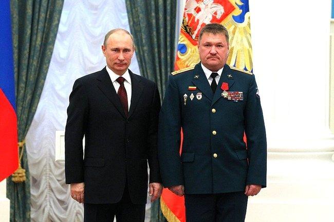 Владимир Путин и Валерий Асапов