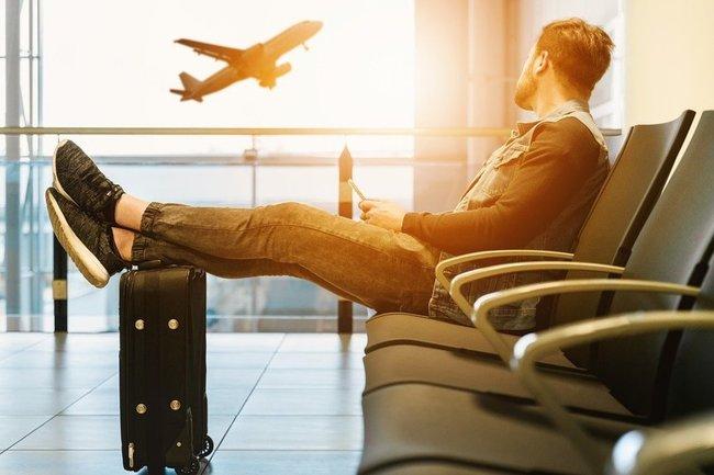 самолет, полет, аэропорт