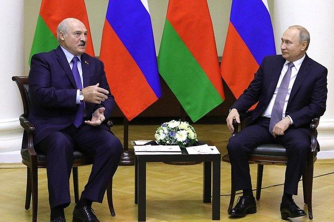 Александр Лукашенко/Владимир Путин