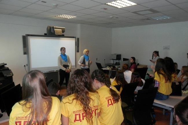 Волонтеры Ямала