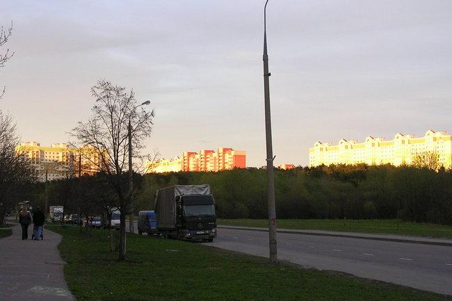 Закат Жиркова над Балашихой