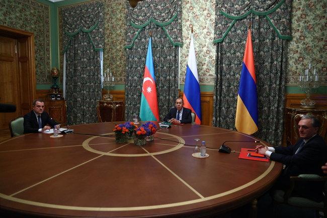 Министры иностранных дел Российской Федерации, Азербайджанской Республики и Республики Армения