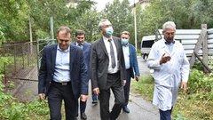 Губернатор Новосибирской области: корпус больницы № 34 будет достроен