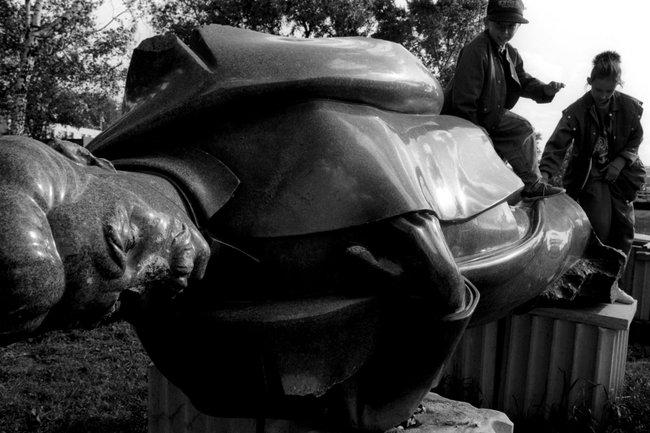 Демонтаж памятника Феликсу Дзержинскому, 1993 год