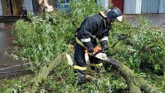Холодный циклон «с ветерком» прошелся по Центральным регионам