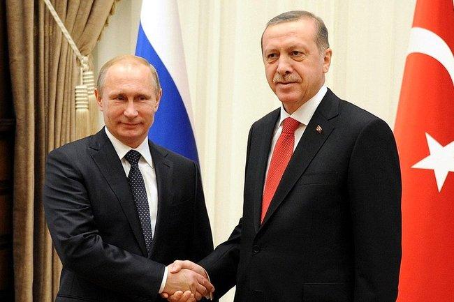Путин и Эрдоган обсудили Сирию, Курдистан и томаты