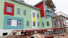 Детсад в омском поселке Биофабрика собираются достроить в ноябре