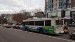 В Белгороде заработал первый экскурсионный троллейбус