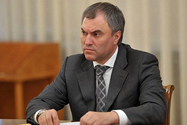 Володин призвал прекратить травлю депутатов из-за скандала со Слуцким