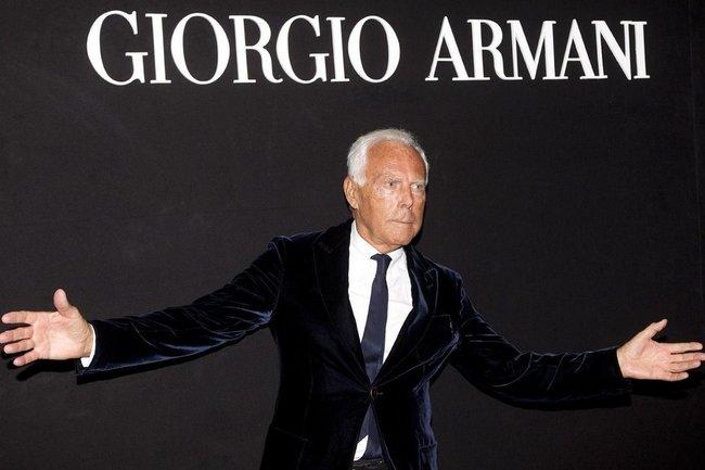 Джорджо Армани
