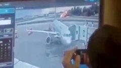 «С огоньком сели!» - появилось видео реакции диспетчеров Шереметьева на крушение SSJ100