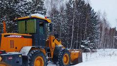 В Кургане убрали 14 тонн снега