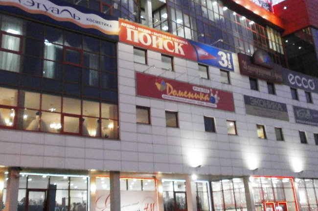 """В Подмосковье эвакуировали посетителей торгового центра """"Мега"""""""