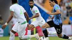 Сборная Уругвая одолела команду Саудовской Аравии