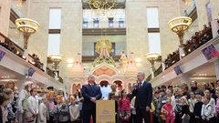 Мэр Москвы открыл реконструированный «Детский мир»