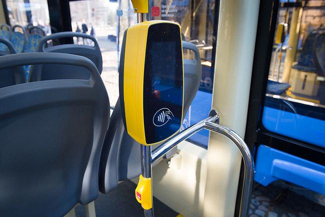 На двух московских трамвайных маршрутах можно расплатиться картой