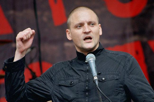 Удальцов провел в столице России спокойную акцию— Некак Навальный