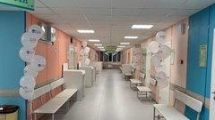 В Екатеринбурге после ремонта открылись два этаже поликлиники для детей
