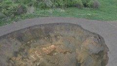 В Тульской области исследуют подземные воды после карстового провала