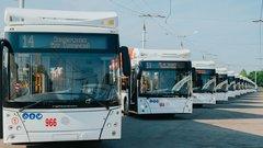 В Чебоксарах обновили почти треть троллейбусного парка
