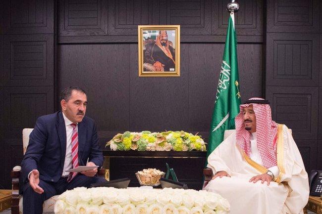 Встреча Главы Ингушетии с Королем Саудовской Аравии